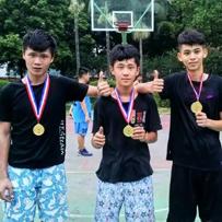 三人篮球赛-蒙太奇传媒课外活动