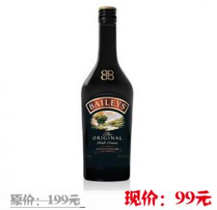 洋酒 Baileys百利甜酒 750ml
