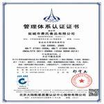22000管理体系认证证书