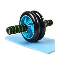 凯速静音型双轮健腹器 腹肌轮健腹轮滚轮KA05 蓝