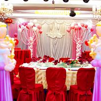 郑州艺术气球婚礼布展