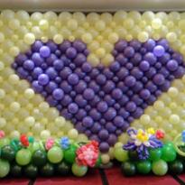 郑州艺术气球生日派对