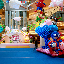 郑州艺术气球商业布展