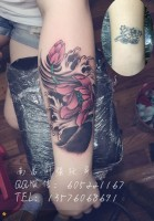 莲花纹身、遮盖旧纹身、江西最好的纹身店