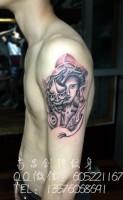 艺妓纹身、南昌纹身店、最好的纹身店