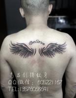翅膀纹身、南昌纹身店