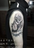 死神骷髅、南昌纹身、专业刺青