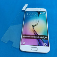 For Samsung Galaxy S6 Edge 0.3mm 2.5D Round Edge Tempered Glass Screen Protector