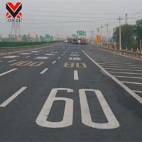 城市道路热熔划线施工XL-HX001