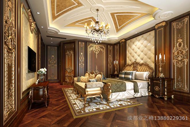 业之峰别墅装修设计_法式宫廷设计案例