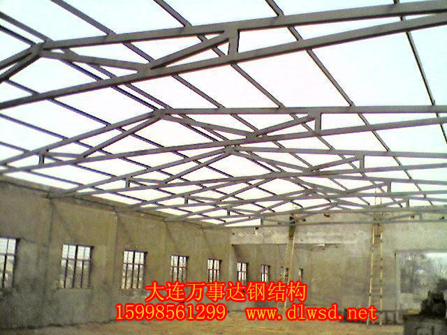 大連輕鋼屋面施工