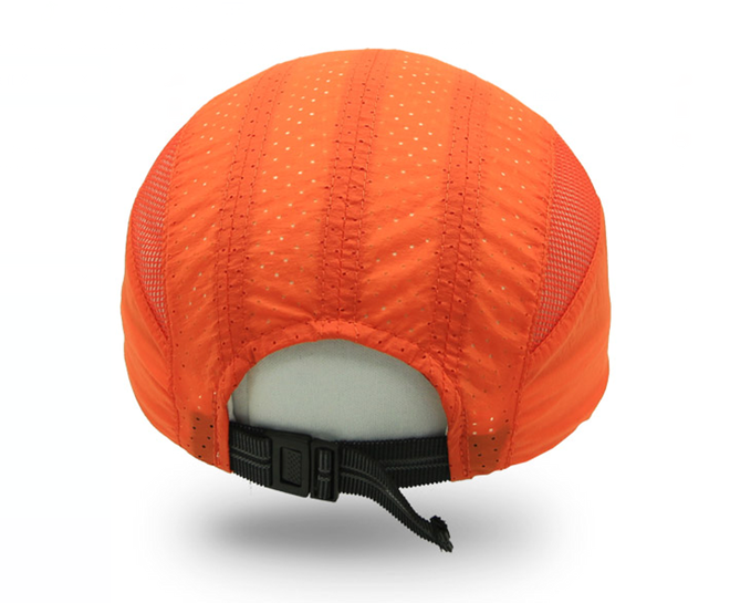户外运动帽子背面效果图