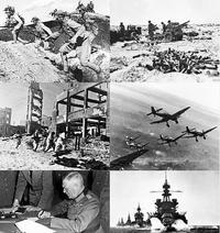 第二次世界大戰戰爭畫面