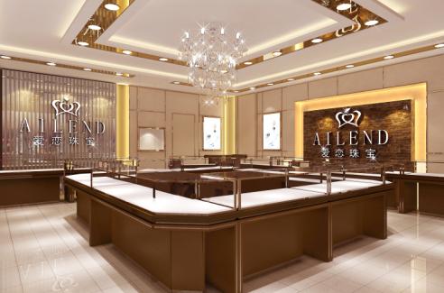 國內外展柜設計風格的不同之處